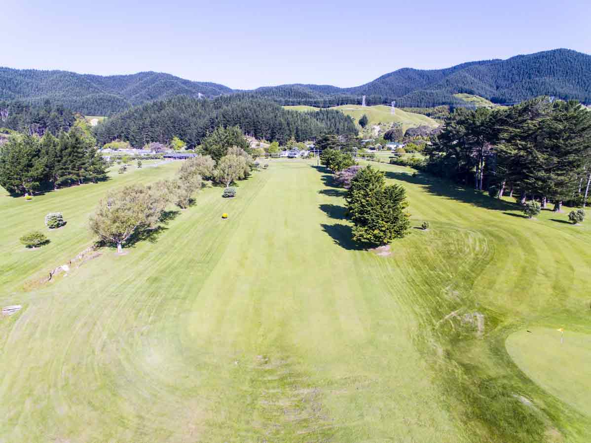 Kapiti Golf Course Aerial Photo